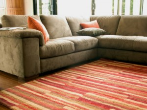 Four ways that contemporary rugs can work in your home.