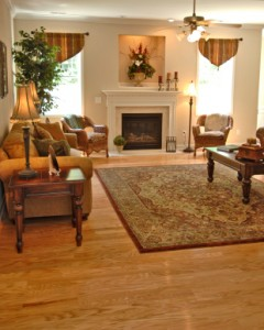 Large area rugs can be used effectively in your home.