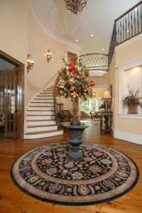 Area Rugs make for Welcoming Entryways