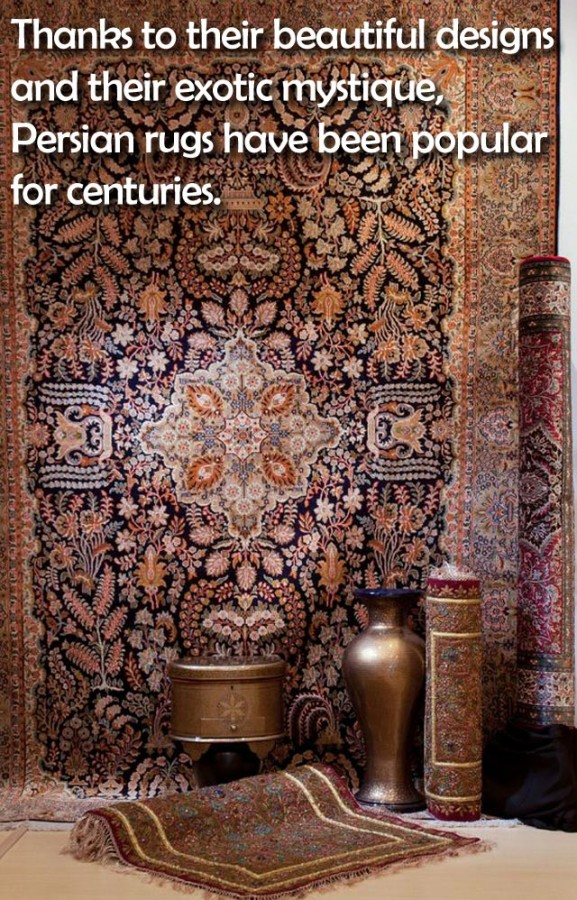 Thanks to their beautiful designs and their exotic mystique, Persian rugs have been popular for centuries