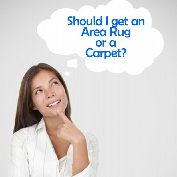 The Problem you Stand on: Choosing between Area Rugs and Carpets