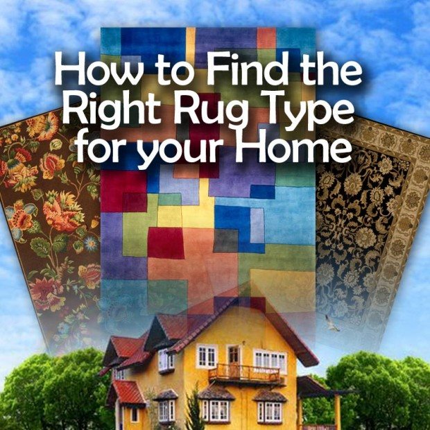 How to Find the Right Rug Type for your Home