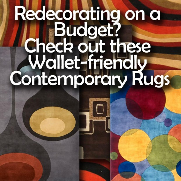 Redecorating on a budget? Check out these wallet-friendly Contemporary rugs