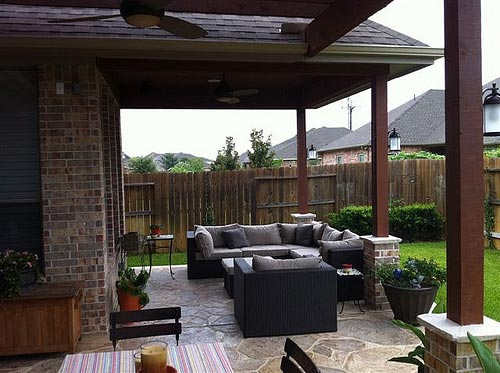 Outdoor living home decor