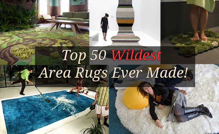 Top 50 Wildest Area Rugs Ever Made