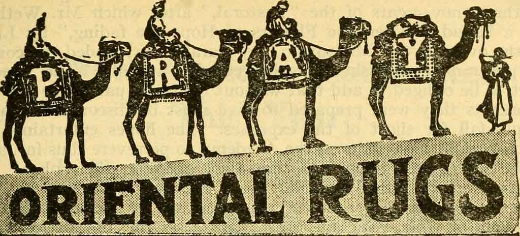 Oriental rugs and religion