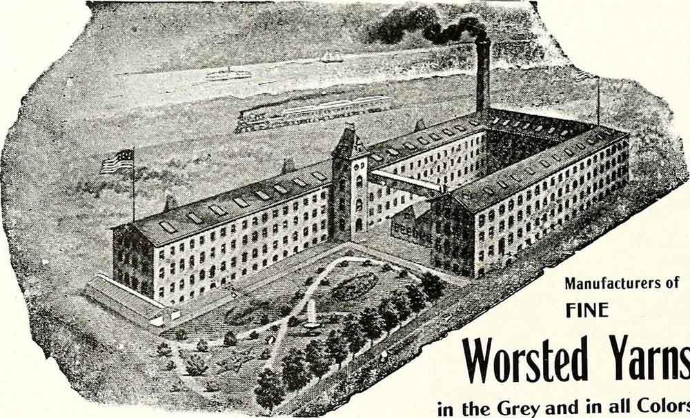 Wool yarn factory