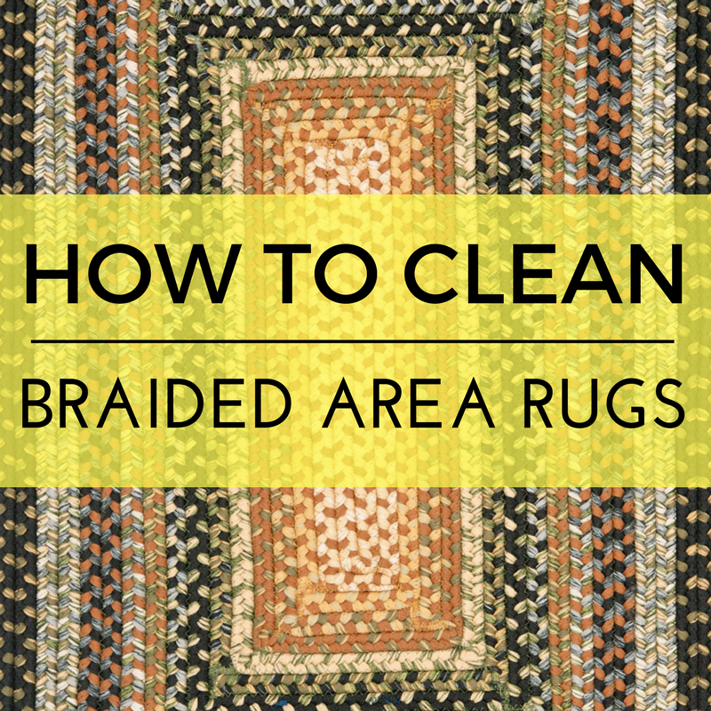 How to Clean Braided Area Rugs