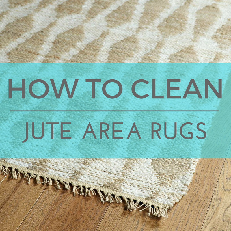 How to Clean Jute Area Rugs