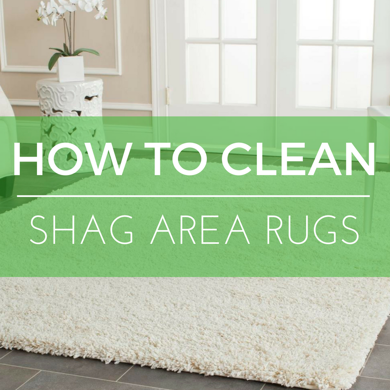 How to Clean Shag Area Rugs