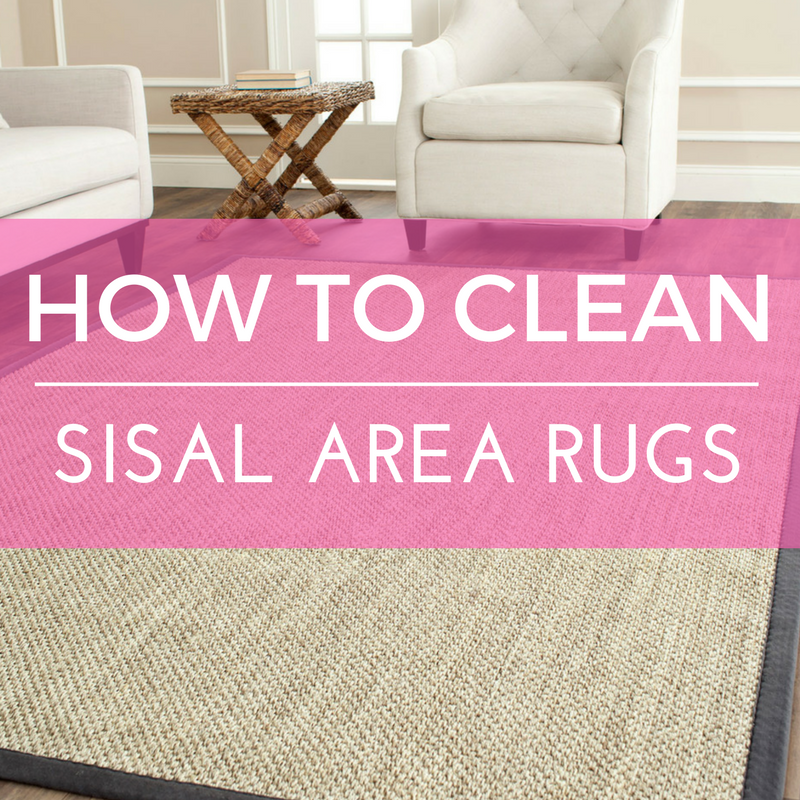 How to Clean Sisal Area Rugs