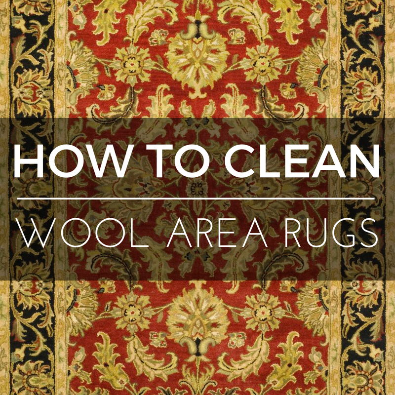 How to Clean Wool Area Rugs