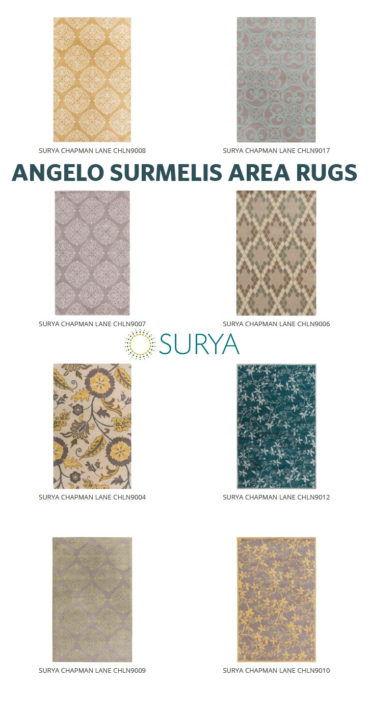 Angelo Surmelis Area Rugs