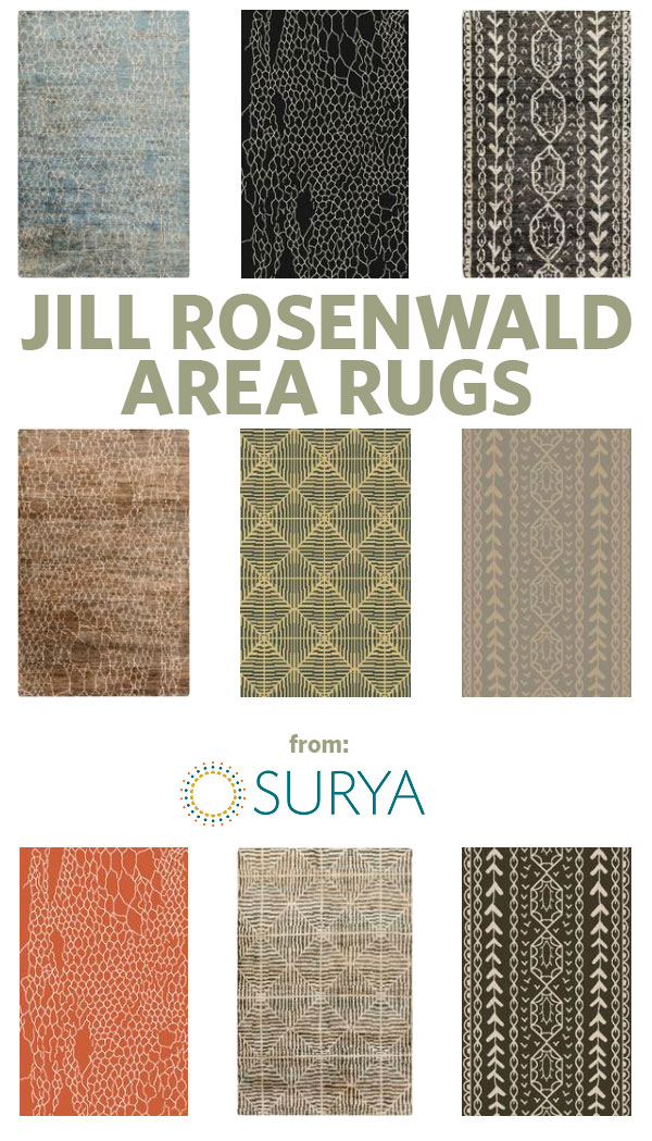 Jill Rosenwald Area Rugs