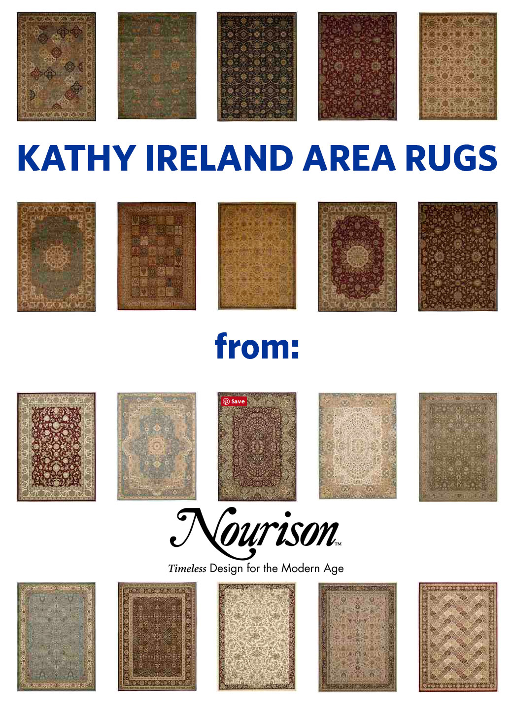 Kathy Ireland Area Rugs
