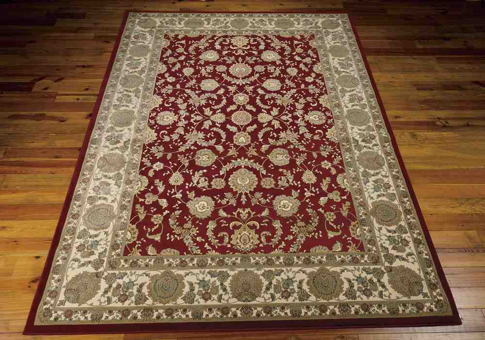 Kathy Ireland Antiquities Ant01 Garnet Area Rug