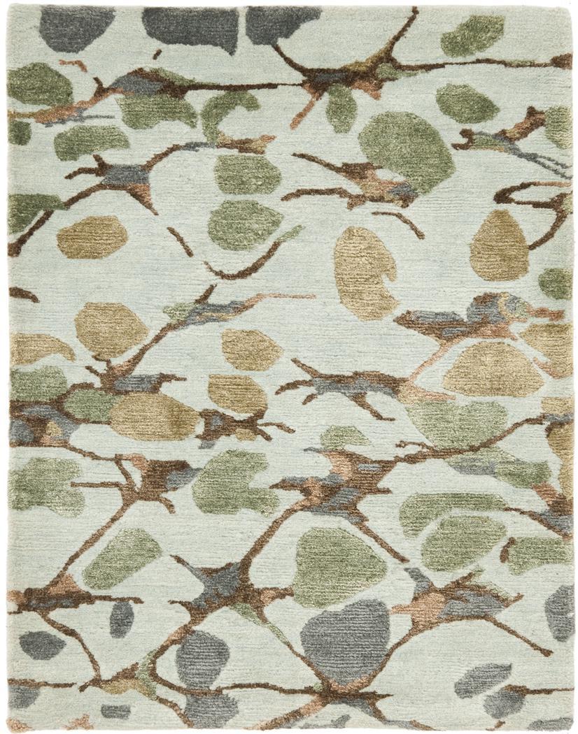 Safavieh Martha Stewart MSR8641A Abstract Trellis S.House Slt Blu Area Rug