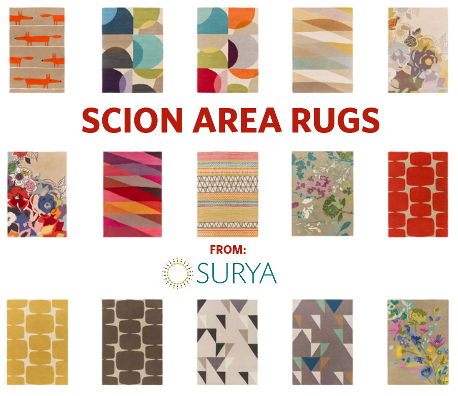 Scion Area Rugs