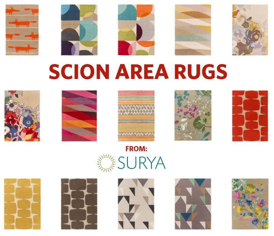 Scion Area Rugs