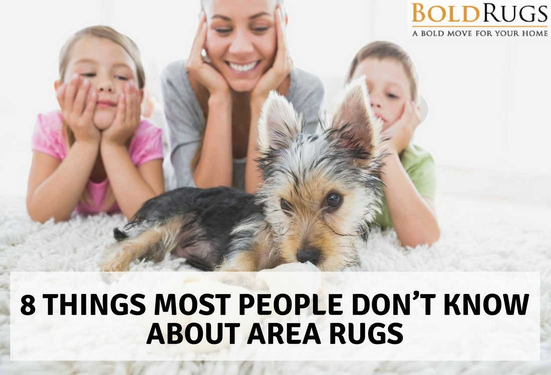 8 Things Most People Don't Know About Area Rugs