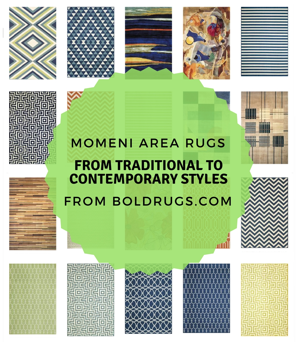 Momeni Area Rugs - From Traditional to Contemporary Styles