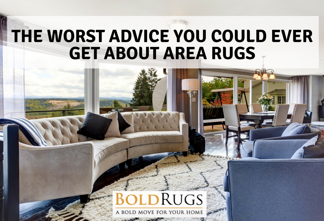 The Worst Advice You Could Ever Get About Area Rugs
