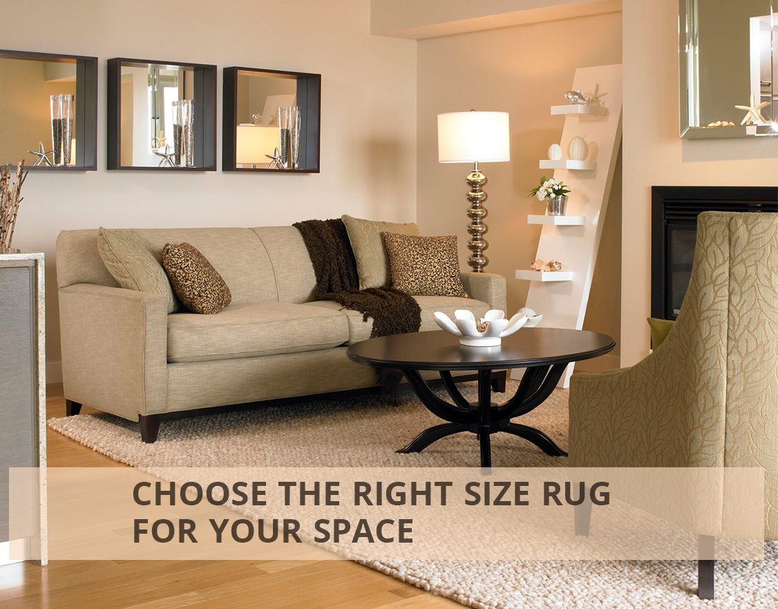 Choosing the Right Size Rug for Your Space