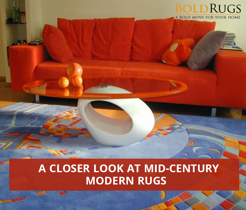 A Closer Look at Mid-Century Modern Rugs