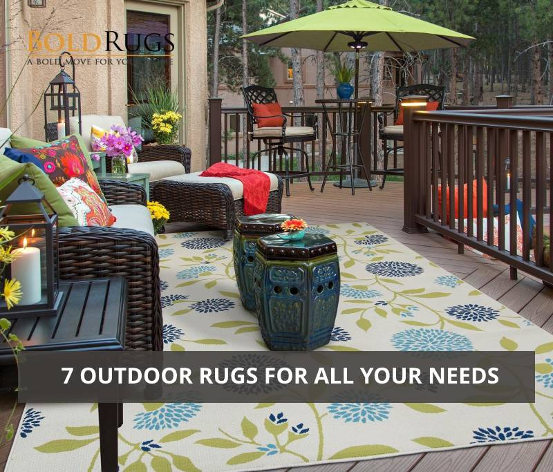 7 Outdoor Rugs for All Your Needs