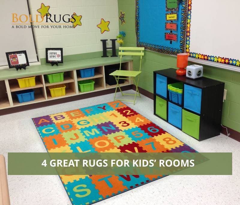4 Great Rugs for Kids' Rooms