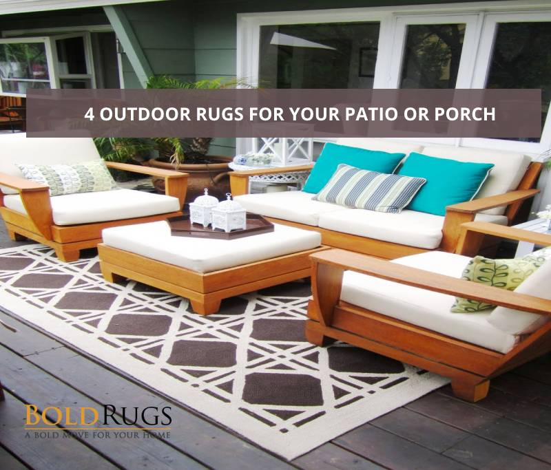 4 Outdoor Rugs for Your Patio or Porch