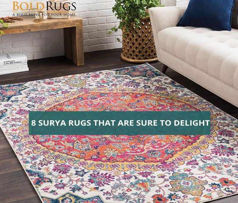 8 Surya Rugs that are Sure to Delight