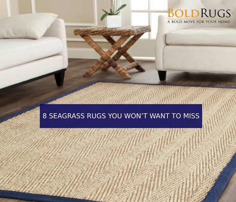 8 Seagrass Rugs You Won't Want to Miss
