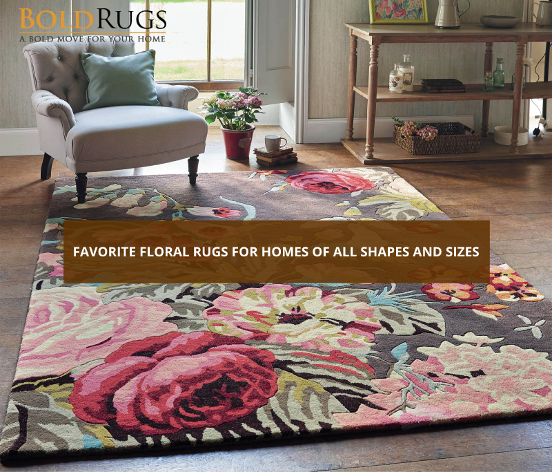Favorite Floral Rugs for Homes of All Shapes and Sizes