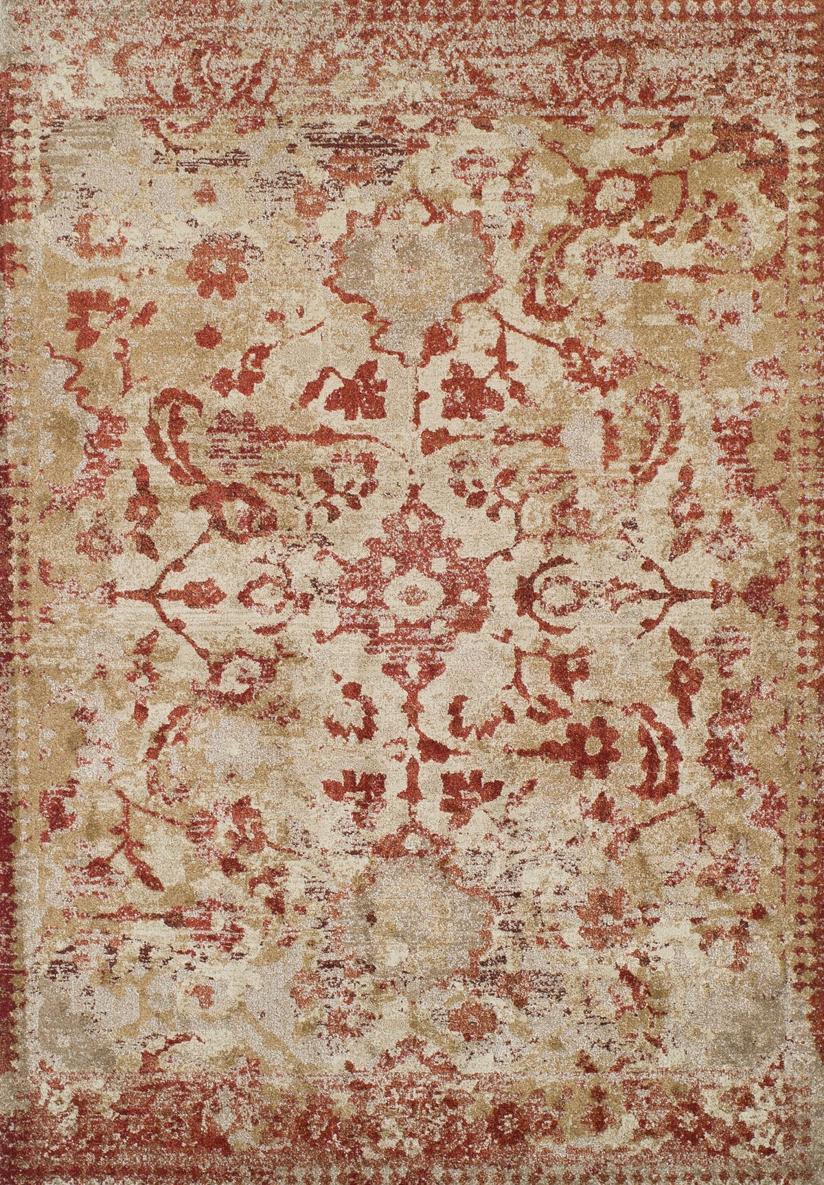 Dalyn Antigua An4 Paprika Area Rug Free Shipping