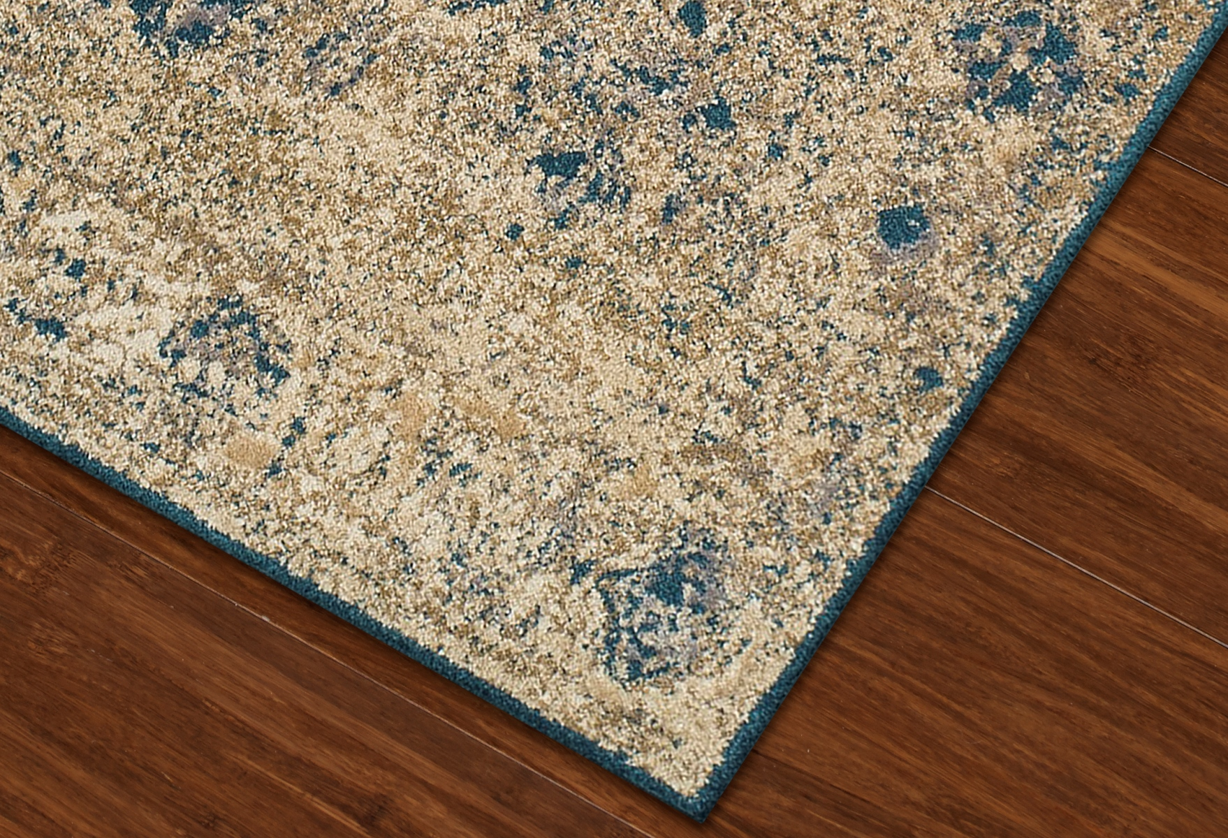 Dalyn Antiquity Aq1 Ivory And Teal Area Rug Free Shipping