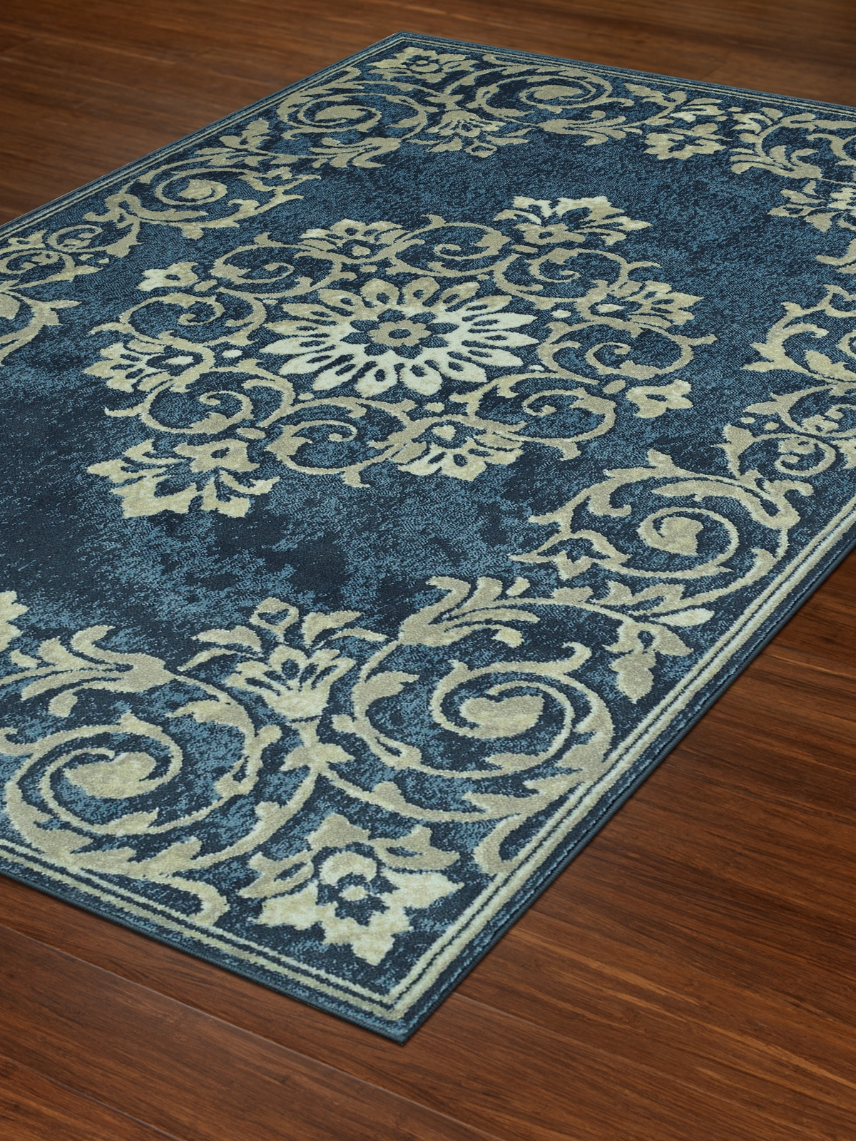 Dalyn Beckham Bc185 Denim Area Rug Free Shipping