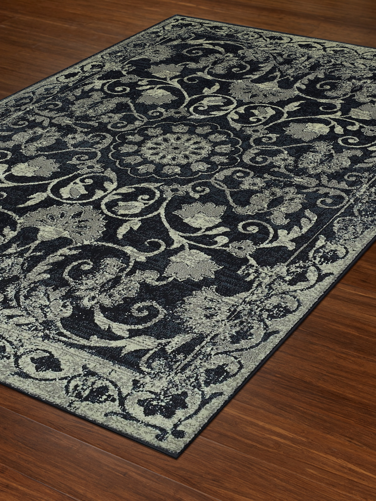 Dalyn Beckham Bc29 Black Area Rug Free Shipping