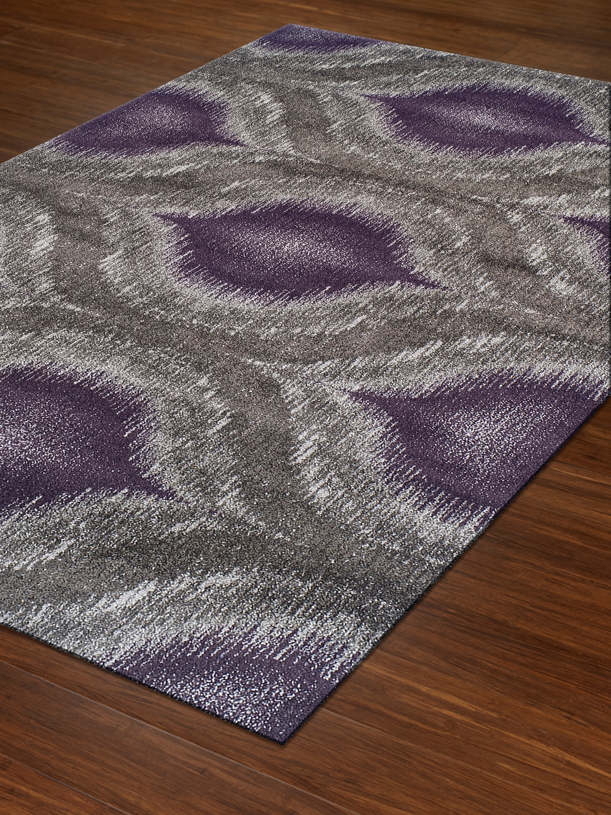 Dalyn Modern Greys MG4441 Plum Area Rug Free Shipping