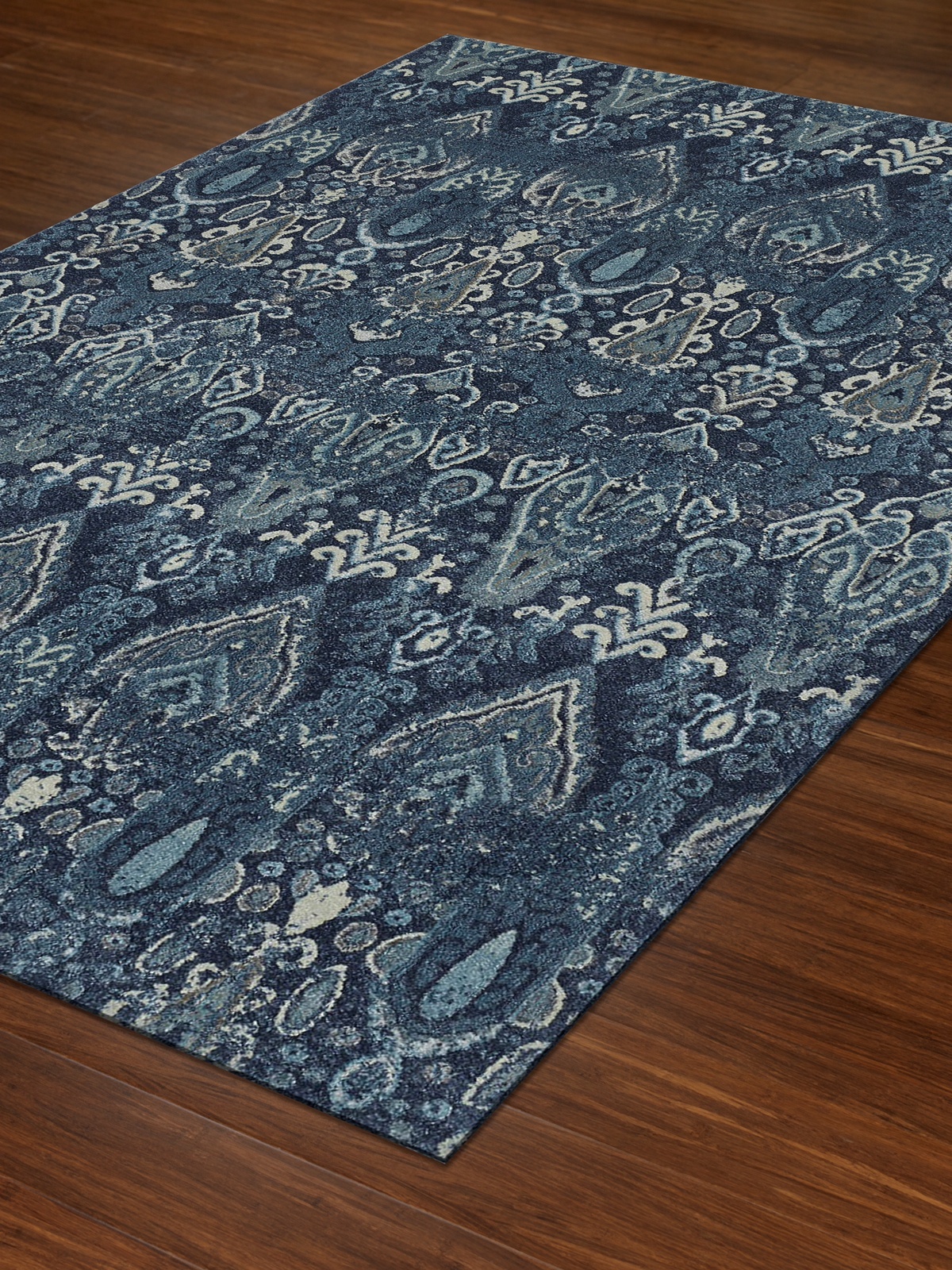 Dalyn Geneva Gv315 Navy Area Rug Free Shipping
