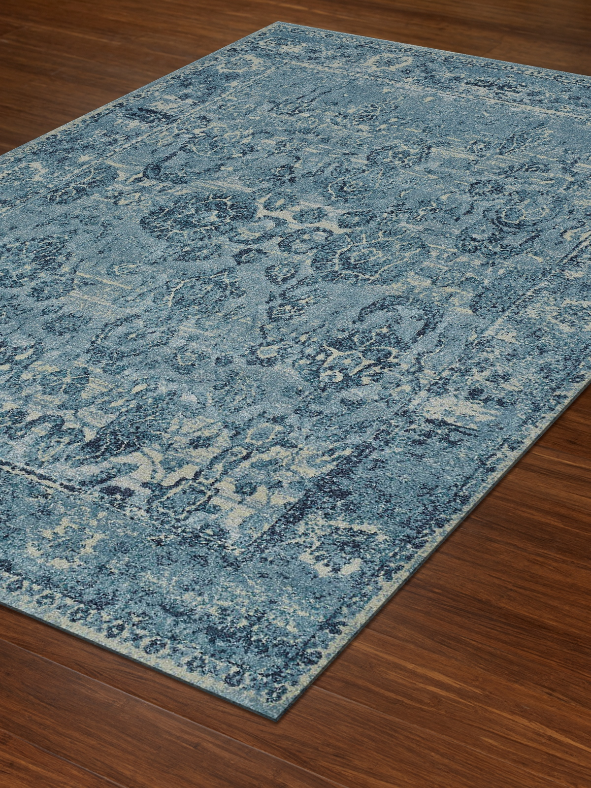 Dalyn Geneva Gv702 Sky Blue Area Rug Free Shipping