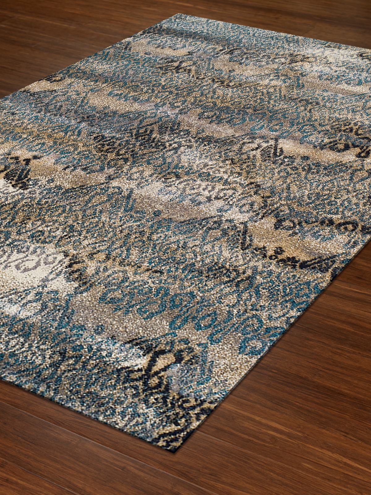 Dalyn Rossini Rs5501 Teal Area Rug Free Shipping