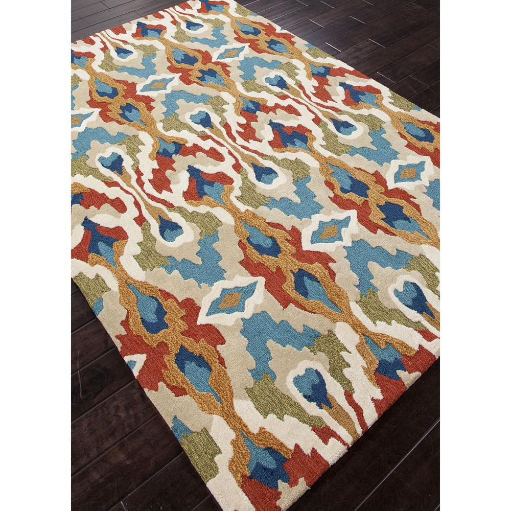 Jaipur Brio Chapan Blue Red Br43 Area Rug Free Shipping