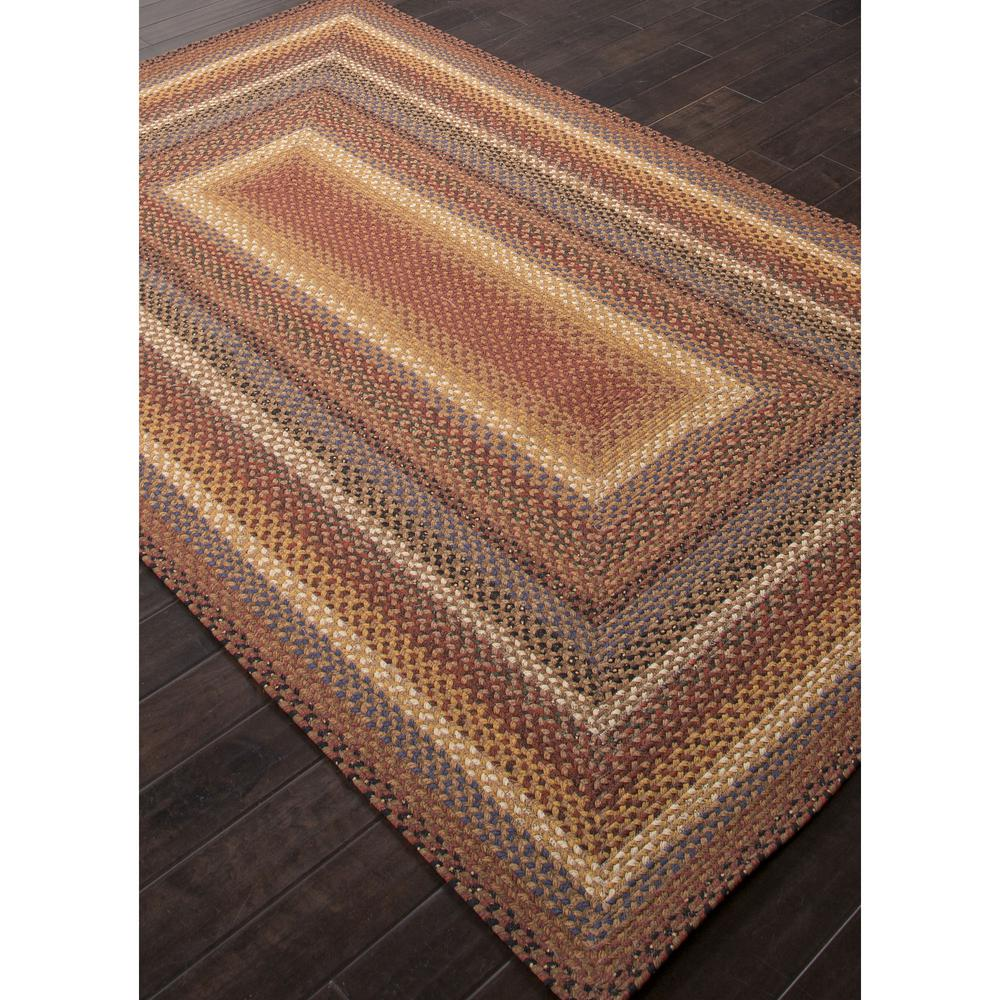Jaipur Cotton Braided Rugs Biscotti Red Yellow Cbr01 Area