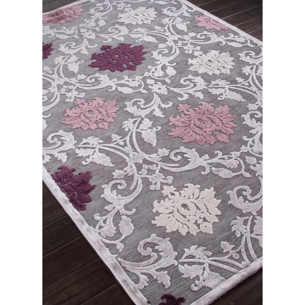 Jaipur Fables Glamourous Gray Purple Fb26 Area Rug Free