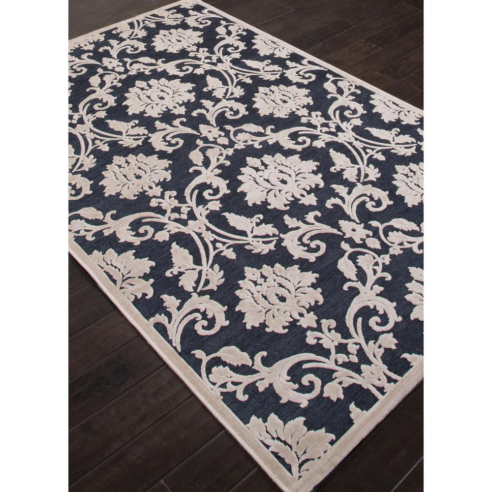 Jaipur fables glamourous blue white fb78 area rug free for Blue and white area rugs