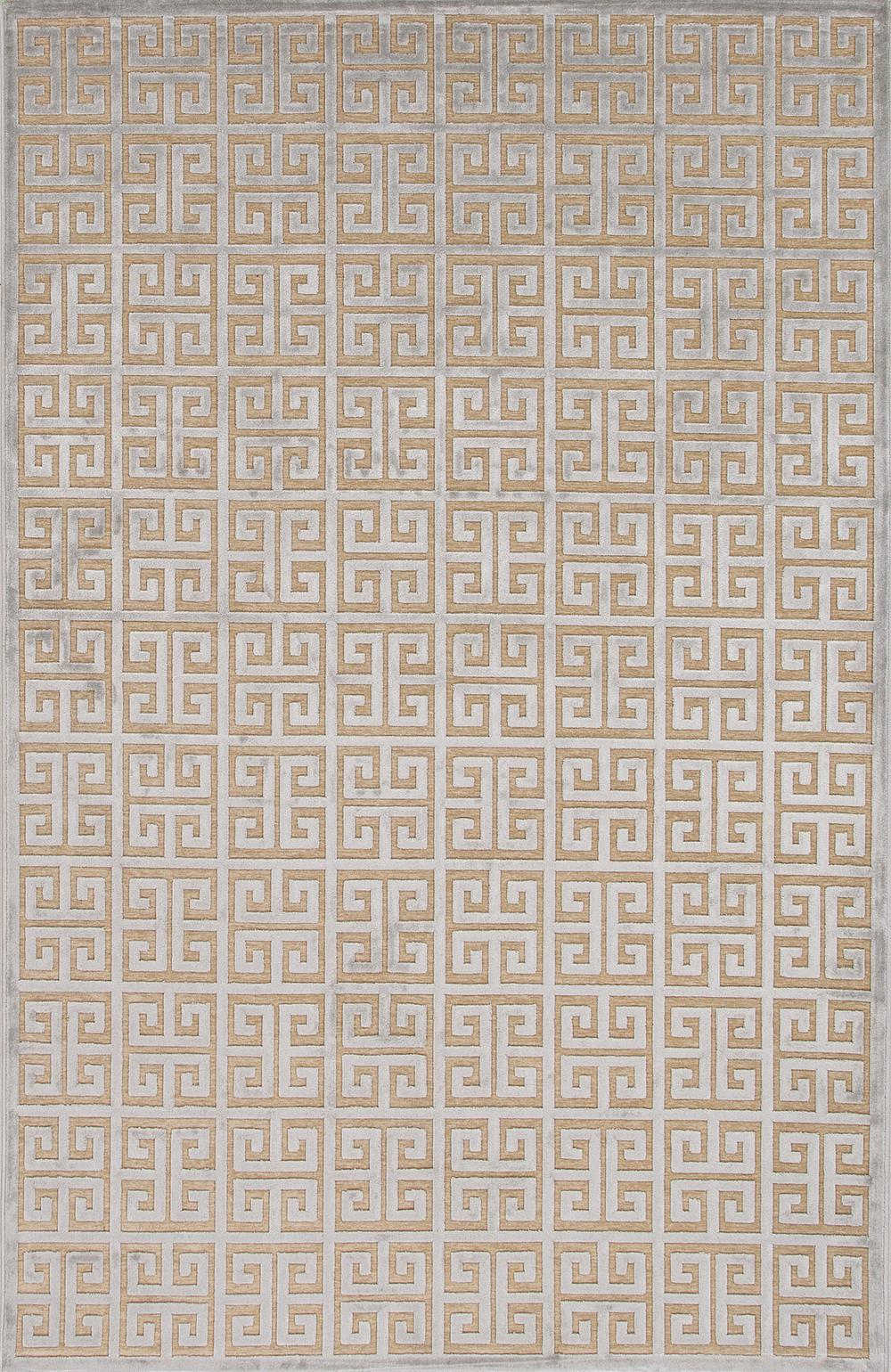 Jaipur Fables Greek Ivory Gray Fb89 Area Rug Free Shipping