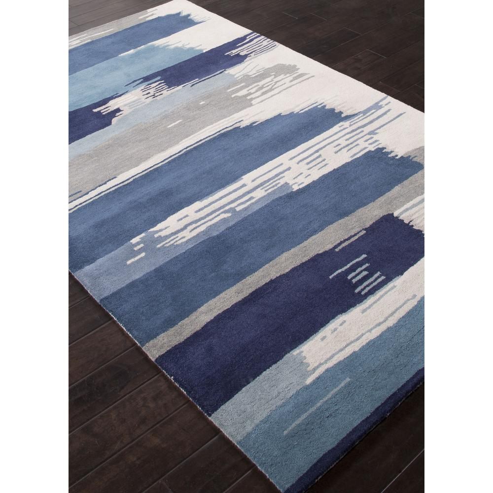 Jaipur en casa by luli sanchez tufted painterly blue white for Blue and white carpet