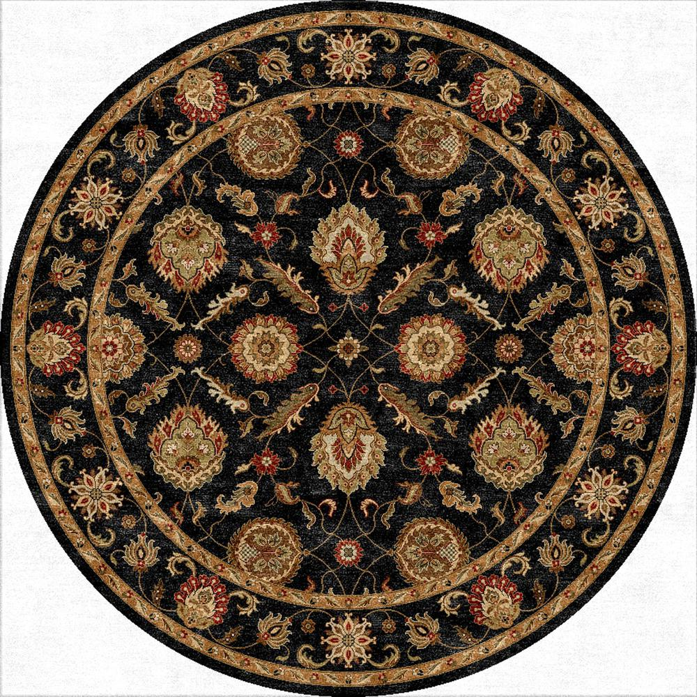 Jaipur Mythos Callisto Black Red My10 Area Rug Free Shipping