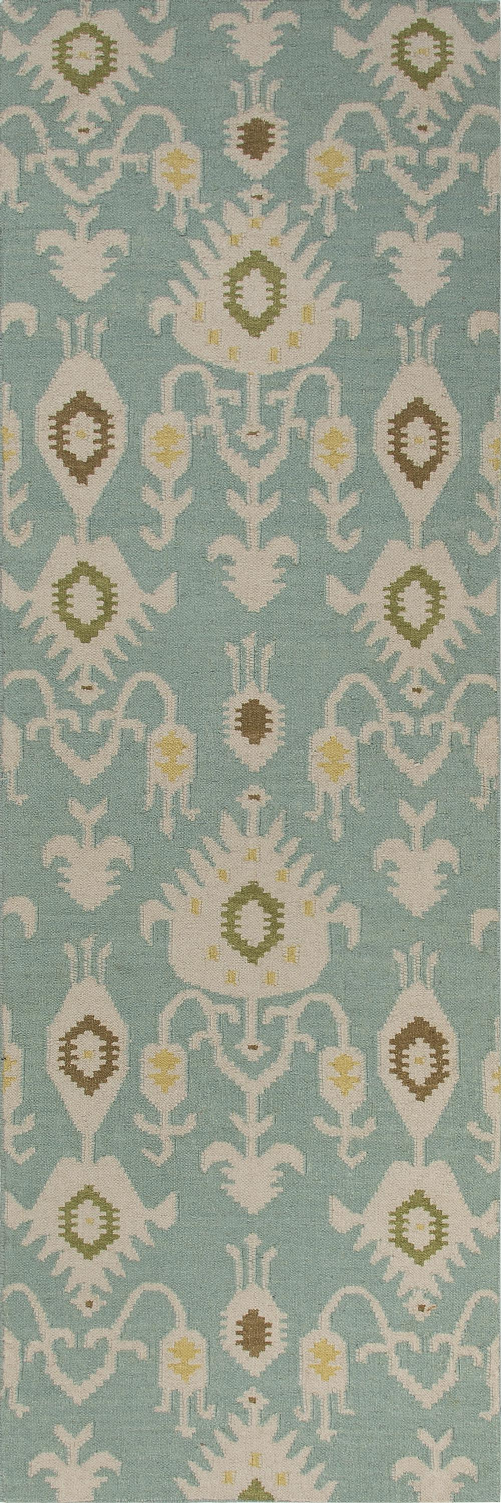 Jaipur Urban Bungalow Samir Blue White Ub18 Area Rug